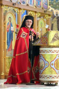 Bishop Nicholas at St. Joseph Church.