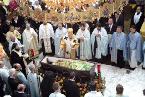 Fr. Pavlo's Funeral, a season to mourn.