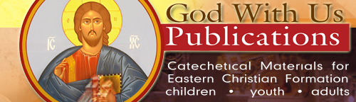 God With Us Publications, a source for Eastern Catholic catechetical material for children and adults. It is a ministry of the Board of Eparchial Directors of Religious Education of the Eastern Catholic Bishops in the United States.