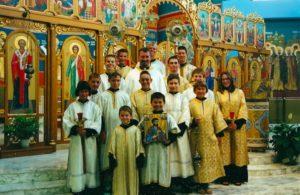 The Altar Server Society in 2002.
