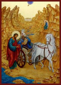 St. Phillip the Deacon, namesake of the Christmas fast.