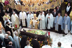 Fr. Pavlo Hayda's funeral, a season to mourn.